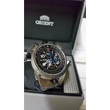 Relogio Orient Aviador Fly Tech Titanium Mbttc008
