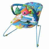 Cadeira Bebê Descanso Vibratória Musical Lite Aqua