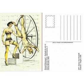 Postal Erótico A Intensa Brunette 1930 Edição 2017