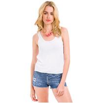 Musculosa Mujer Sublimar Sublimacion Estampado Blancas