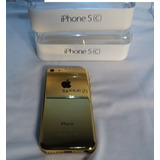 Apple Iphone 5c Original Ouro Reflexo + 1 Ano De Garantia