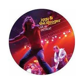 Lp Iggy Pop Live In Detroit Com Dvd