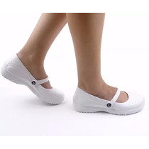Sapato Branco Enfermagem Profissional Uniforme