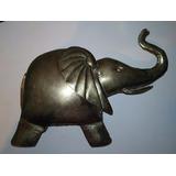 Elefante Grande De Bronce Hecho A Mano En India