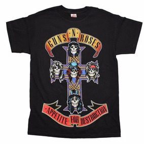 Guns And Roses Playera Bravado Md. App E Grtis Heavy Danbr68