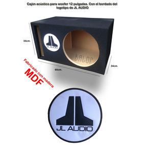 Cajon Acústico De Mdf Para Woofer 12 Jl Audio Fabricante