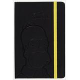 The Simpsons Notebook: Plain, Black *envio Gratis