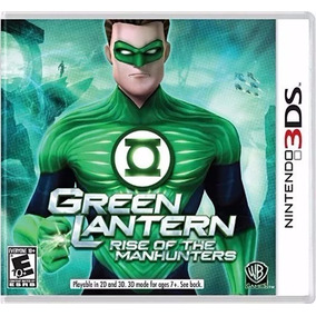 Lanterna Verde Para Nintendo 3ds Jogo Lacrado Green Lantern