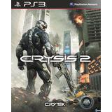 Crysis 2 Ps3, Disco, Nuevo Y Sellado