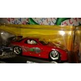 Mazda Rx 7 Red Carro Rapido Y Furioso Doms En Caja Lyly Toys