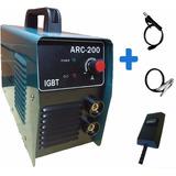 Maquina De Solda Inversora Igbt Tig Elet 220volts Arc200 4kg