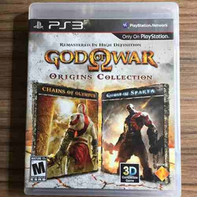 Jogo God Of War Origins Collection Ps3 - Seminovo Físico