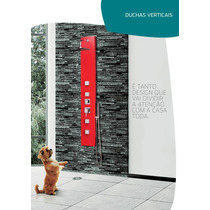Coluna De Banho / Hidromassagem Vertical - Ibiza Kr9206