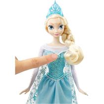 Disney Frozen Boneca Elsa Musical Mattel