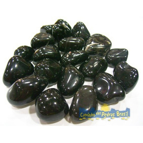 Gema / Pedra Ônix Natural Rolada Polida Lapidada / 2cm