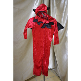 Disfraz Niño Diablo Pastorela Halloween Muertos Talla 2