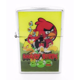 Encendedor Angry Birds + Fluido Recarga Zippo 125 Ml