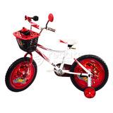 Bicicleta Cars Importada Rin 16 Para Niños De 5 A 9 Años