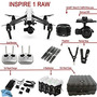 Dron Dji Inspire 1 Raw Bundle Con Zenmuse X5r, 4 Baterías,