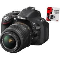 Nikon D5200 Kit 18-55 + Kit 55-200 Vrii En Stock !!!