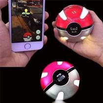 Carregador Celulares Pokémon Go Pokebola Pronta Entrega