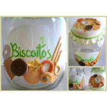 Potes Decorados Biscuit 1.300ml - Por Encomenda