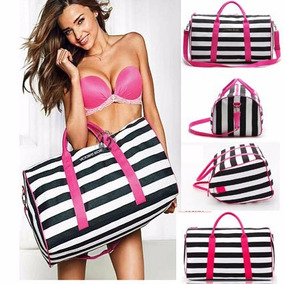 Bolsa Mochila Mala De Viagem Victoria Secret Hot Pink