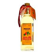 Mezcal Oro De Oaxaca 750ml Gusano De Agave Mexico Botella Ml