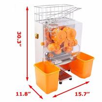 Exprimidor De Naranjas Automático Extractor Industrial Jugo