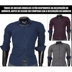 Camisa Social Slim Fit Importada A Pronta Entrega Lindas