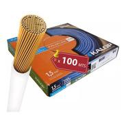 Cable Unipolar 1.5 Mm Kalop Normalizado Iram  X100 Mts