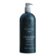Shampoo Masc Cabelo/barba Crashing Waves 990ml El Capitán
