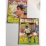 .- Revista El Grafico Año 86 Y 91