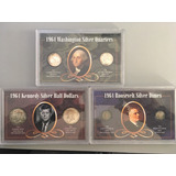 Usa Silver Dimes Quarters And Halkf Dollars
