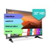 Smart Tv Lg 32 32lj600b Hd Hdmi Usb Netflix Ips Oferta 12cts