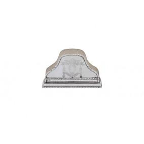 Porta Guardanapo Banho De Prata Alta Decoração Classica