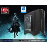 Pc Gamer - A10 - Gtx1050 Ti Dual/ 1 Tb / 8gb Ram / - Phantom