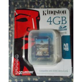 Memoria Kingston Sd6 Hc 4 Gb Nueva En Su Empaque