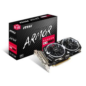 Placa De Vídeo Amd Radeon Rx 570 Msi Armor 4gb Eth