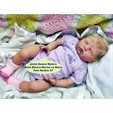 Boneca Bebê Reborn Marina Ou Mario Parece Igual A Bebe Real