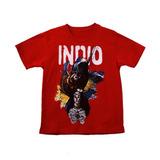 Remera Indio Solari (roja)
