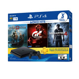 Consola Ps4 1tb + Uncharted 4 + God Of War + Gran Turismo Sp