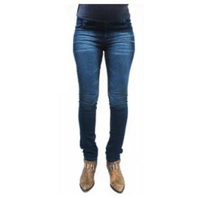 Vm Pantalon Fino Jean Elastizado Ginette, T0, Jean