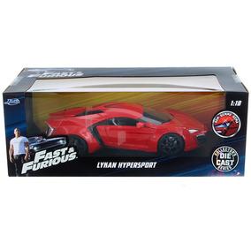 Rapido Y Furioso Auto De Coleccion Lykan Hypersport Escala 1