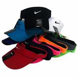 Viseira Sombreiro Feminino Masculino Nike Várias Cores
