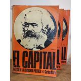 El Capital Crítica De La Económica Política Carlos Marx