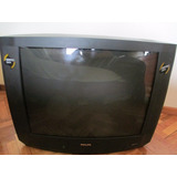 Tv Philips Tubo 33 Pulgadas Pip Usado - Barracas
