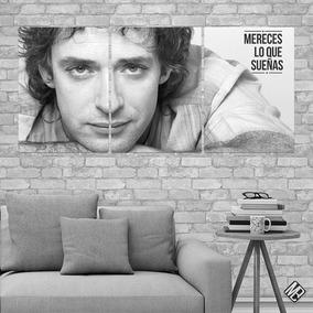 Cuadros Modernos Tripticos Gustavo Cerati 90x42cms
