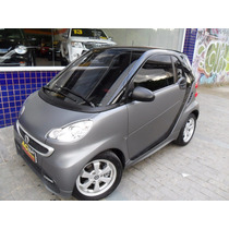 Smart Fortwo Coupê 2015 Cinza Turbo Automático Teto 17000 Km