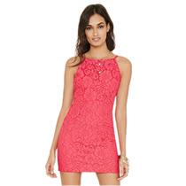 Hermoso Vestido Sexy Y Elegante Color Rosa - Forever 21